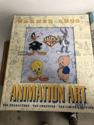 Warner Bros animation art book for Sale in Palmdale, CA