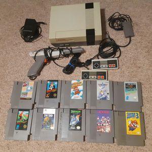 Nintendo NES System Mario 1 2 & 3 + More for Sale in Santa Maria, CA