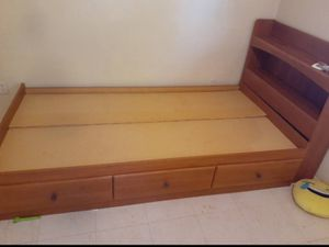 Twin bed with storage for Sale in Tucson, AZ