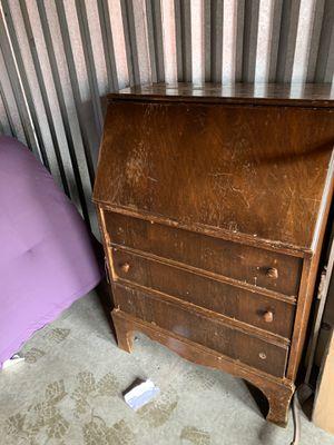 Antique secretaries desk. for Sale in Federal Way, WA