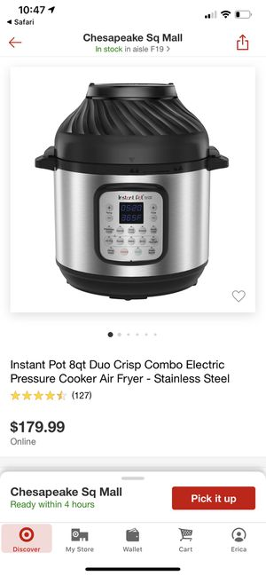 Instant pot for Sale in Hickory, NC