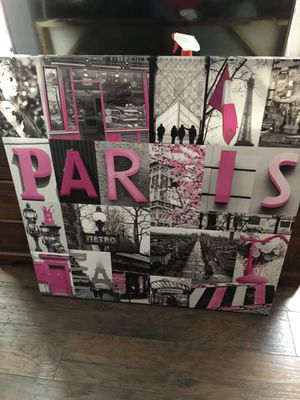 Paris wall decor for Sale in Philadelphia, PA