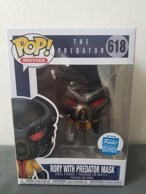 Funko pop Rory with predator mask for Sale in Modesto, CA
