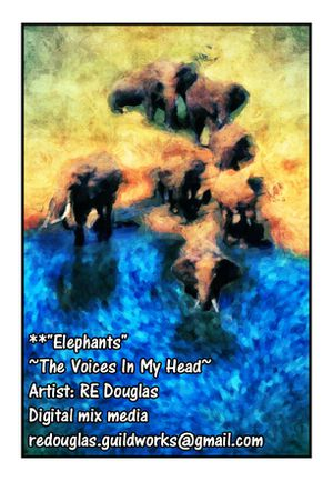 """"""" Elephants """" for Sale in Atlanta, GA"""
