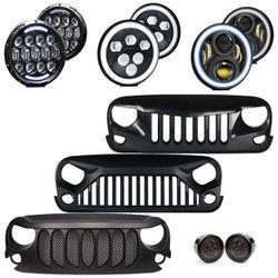 Jeep Wrangler LED Appearance Package Front End Upgrade - TIER 3 (JK/JKU) for Sale in Fullerton,  CA