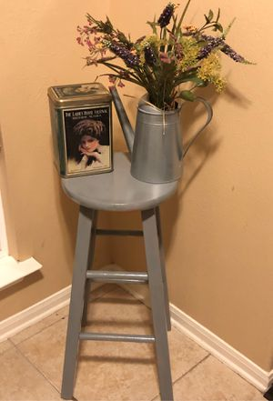 Old stool and decor for Sale in Katy, TX