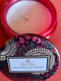 voluspa going atrocious orange parfumee candle 2 for $20.00 for Sale in Chandler,  AZ