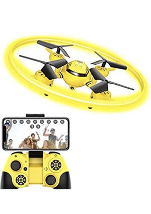 Q8 FPV Drone with Camera for Kids Adults,RC Drones for Kids,Quadcopter with Yellow Light,Altitude Hold,Gravity Sensor and Remote Control for Sale in Monterey Park, CA