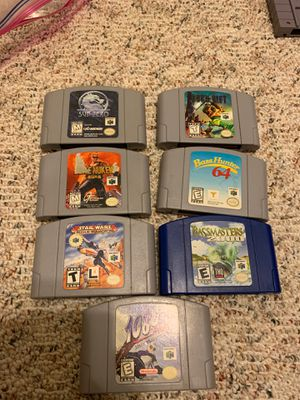 Nintendo 64 games for Sale in Durham, NC