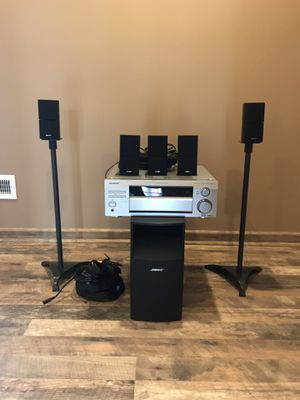 Bose Acoustimass 10 III with Pioneer reciver for Sale in Parma, OH