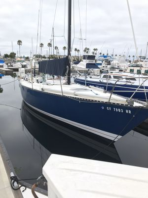 Tartan ten 33 foot racing sailboat 1983 excellent condition for Sale in Los Angeles, CA