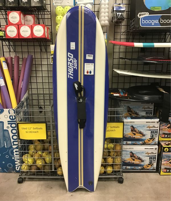 "Thurso Surf Lancer 5'10"" FishSoft Top Surfboard"