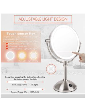 Brand new LED Makeup Mirror-10x Magnifying for Sale in Linthicum Heights, MD