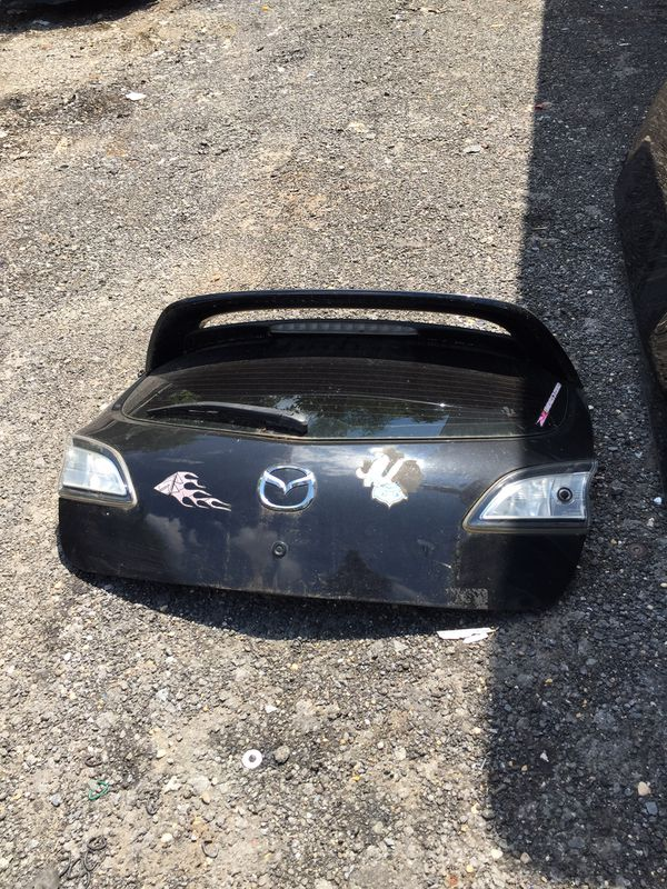 2010 Mazda 3 hatchback parts doors trunk
