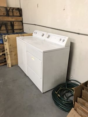 Washer and gas dryer, both work great! for Sale in San Diego, CA