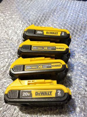 Dewalt Battery 2.0Ah 20V $25 Each for Sale in Norwalk, CA