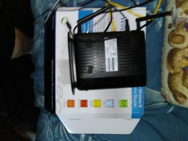 Actiontech Wireless DSL modem router