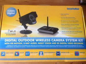 Security man digital wireless camera indoor/outdoor for Sale in San Francisco, CA