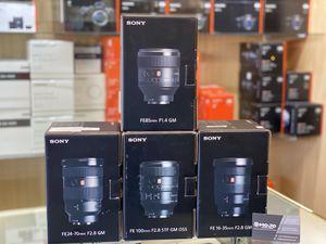 Sony, canon lenses for Sale in Long Beach, CA