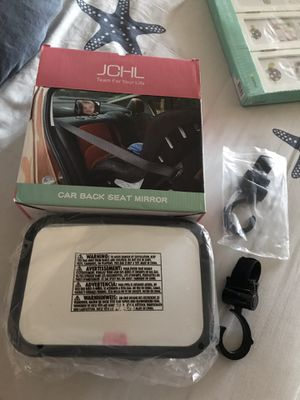 Car back seat mirror➕2 stroller hooks for Sale in Queens, NY