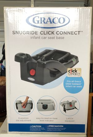 Graco Snugride Click Connect infant car seat base - NEVER OPENED for Sale in Lynnwood, WA