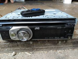 Jvc kd-s37 loaded with options with key chain remote for Sale in Indianapolis, IN