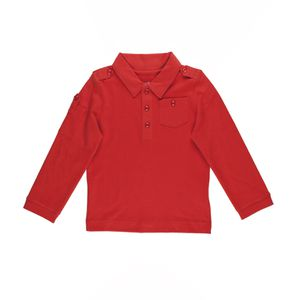 Boys Solid Cargo Polo T-Shirt Brick 5T for Sale in Norfolk, VA