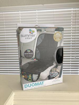Summer Infant DuoMat Car Seat Protector Mat Seat Cover Pad Mat Waterproof Black for Sale in Orlando, FL