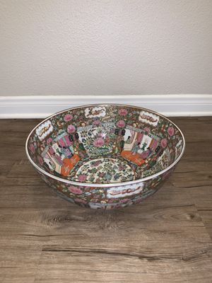 Antique china bowl for Sale in Newport Beach, CA