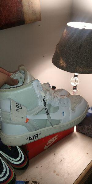 Off-white Jordan 1 size 9.5 for Sale in Byron, GA