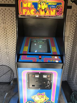 Original MS. Pac-Man Arcade Mint Working with coins or not Mint for Sale for sale  Bound Brook, NJ