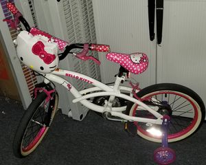 "18"" Hello Kitty Girls' Bike, White for Sale in Miramar, FL"