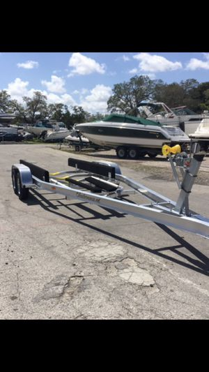 Cheap Shipping Trailers, Trailer Mania. Boat trailers 22-24ft Model. Ready to Go for Sale in Fort Lauderdale, FL