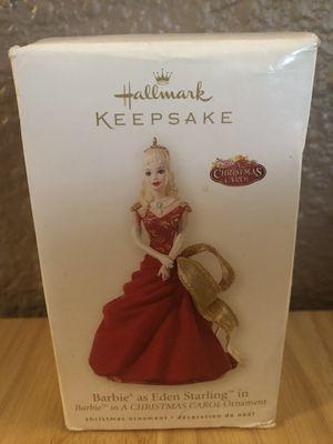 2008 Barbie as Eden Starling Hallmark Keepsake Ornament for Sale in St. Louis, MO