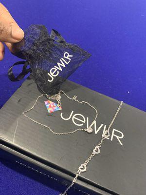Jewlr Necklace and Bracelet set for Sale in Glenn Dale, MD