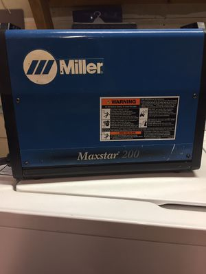 Miller Electric maxstar 200 SD for Sale in Clovis, CA