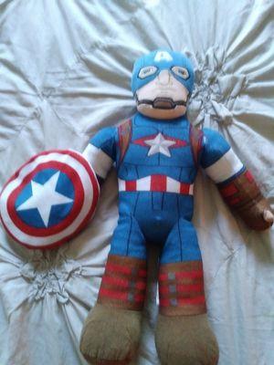 Captain America stuffed for Sale in Rohnert Park, CA