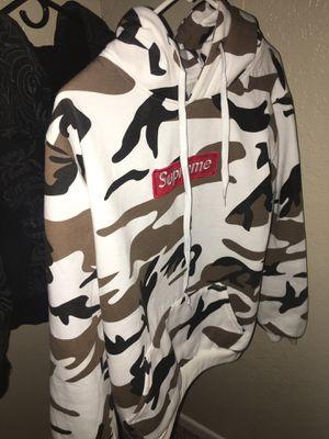 Supreme box logo hoodie sz L for Sale in Grand Prairie, TX