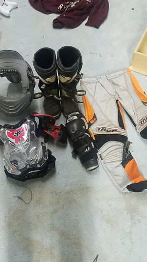 dirtbike gear for Sale in Sioux City, IA