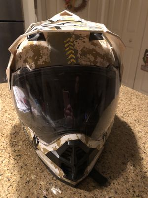 AFX FX-39 Dual Sport Motorcycle Helmet for Sale in Gaithersburg, MD