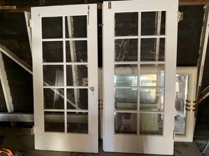 Wood French Doors for Sale in Sunnyvale, CA