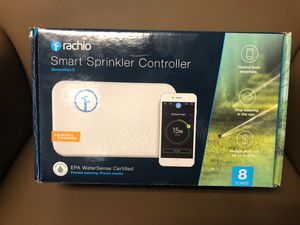 Rachio 2nd generation lawn smart sprinkler controller for Sale in Manalapan Township, NJ