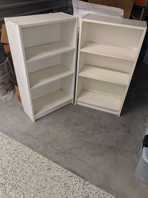 Two Bookshelves - $50 for both at $25/each for Sale in Durham, NC