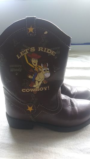 Toy story boots kids size 10 for Sale in Addison, IL