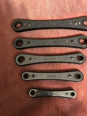 Craftsman Set 5 Box wrench Made USA. for Sale in Costa Mesa, CA