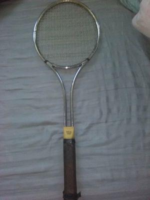 Deluxe steel vintage tennis racket for Sale in Tampa, FL