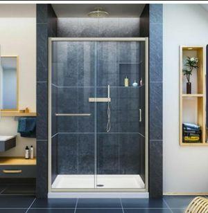 DreamLine Infinity-Z Sliding Brushed Nickel Shower Door for Sale in Boston, MA