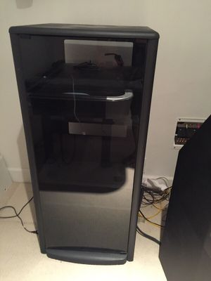 Entertainment Center Audio Video Cabinet for Sale in Prineville, OR