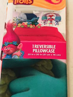 Trolls Reversible Pillow Case for Sale in Milford Mill,  MD
