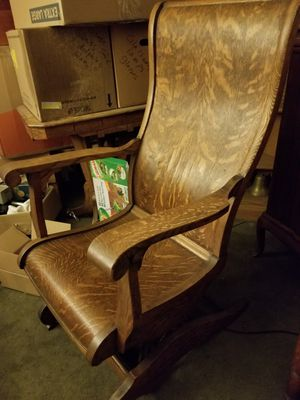 Rare Victorian Antique A.H. Schram Coil Spring Rocking Chair for Sale in Oakland, CA